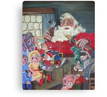 Coke Santa Canvas Print