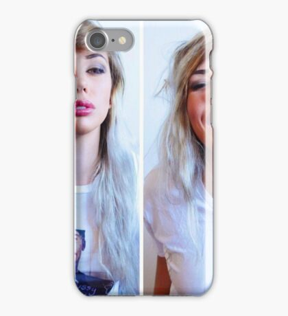 Alanah Wearing 'The Pussy Slayer' iPhone Case/Skin