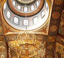 Ceiling Detail ~ Russian Orthodox Church by fototaker