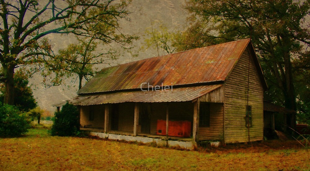 Hazy Homeplace by Chelei