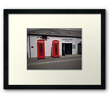 Phonebox Framed Print