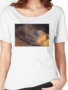 Stormy Sky at Sunset Women's Relaxed Fit T-Shirt