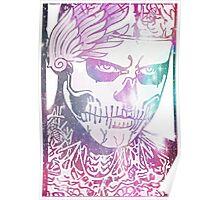 Zombie Boy Galaxy Portrait Poster