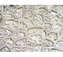 The Wall at Ravello - N900 Photographic Print