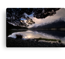Mavora Lakes, Sunset Canvas Print