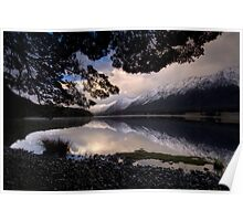 Mavora Lakes, Sunset Poster