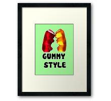 Gummy style Framed Print