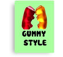 Gummy style Canvas Print