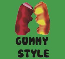 Gummy style One Piece - Short Sleeve