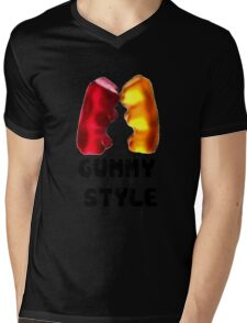Gummy style Mens V-Neck T-Shirt