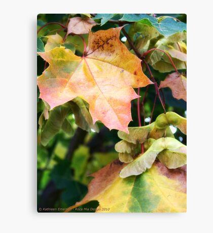 Autumn Farewell Canvas Print