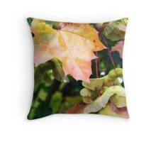 Autumn Farewell Throw Pillow