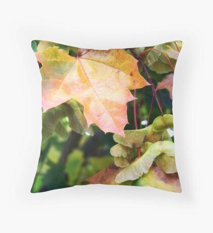 Autumn Farewell Throw Pillow