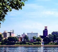 Harrisburg PA Skyline by Susan Savad