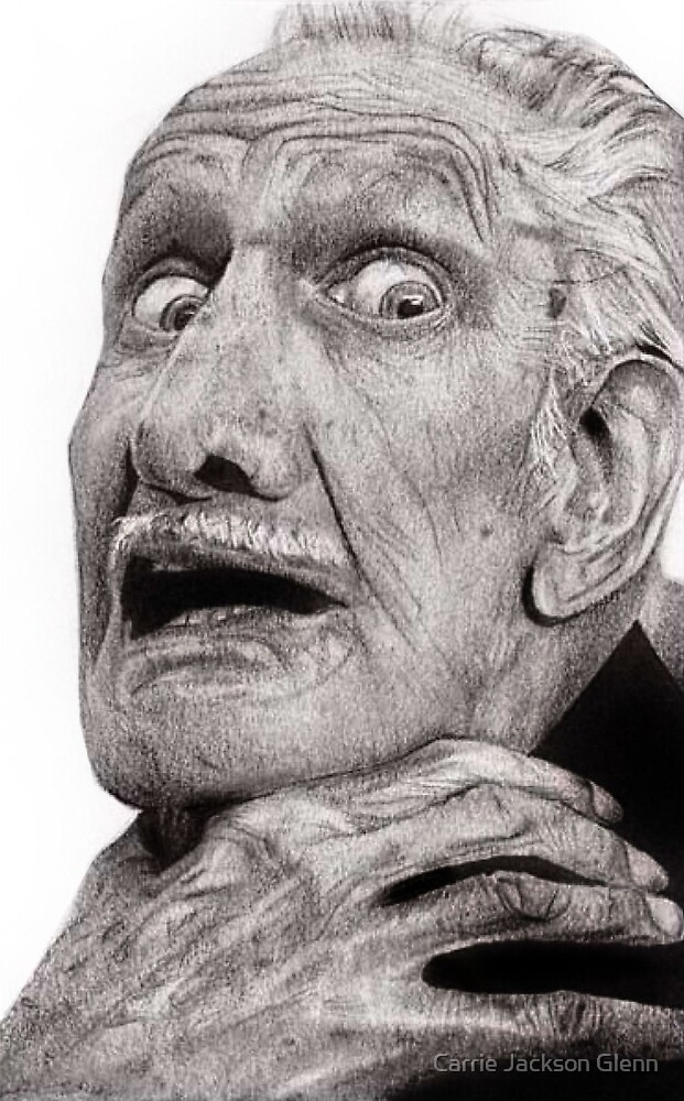 Portrait of Vincent Price by Carrie Jackson
