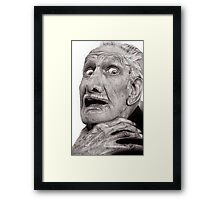 Portrait of Vincent Price Framed Print