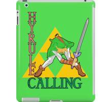 Hyrule Calling! iPad Case/Skin