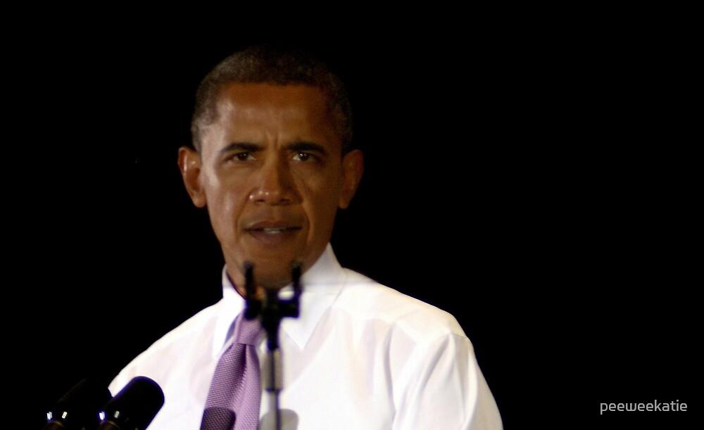 Obama by peeweekatie