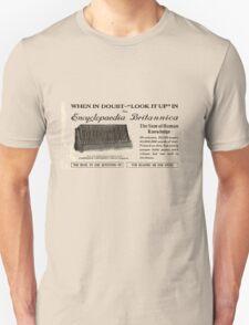 'Encyclopedia Britannica Advert' T-shirt etc.... T-Shirt