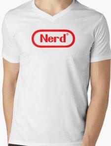 NERD! Mens V-Neck T-Shirt