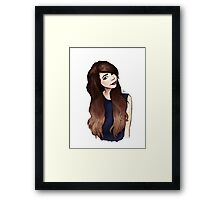 Zoella 2.0 Framed Print