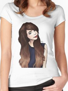 Zoella 2.0 Women's Fitted Scoop T-Shirt
