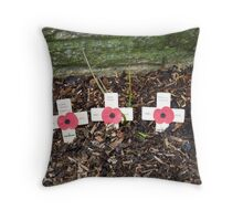 We will remember Throw Pillow