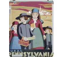WPA United States Government Work Project Administration Poster 0388 Rural Pennsylvania iPad Case/Skin