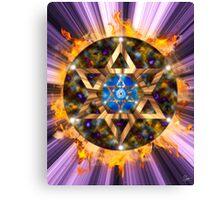 Star of David Mandala 4 Canvas Print