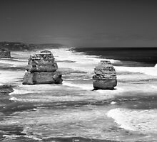 Two of the Twelve - Great Ocean Road by Step9