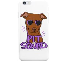 RED PIT SQUAD iPhone Case/Skin