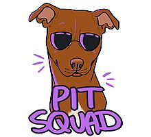 RED PIT SQUAD Photographic Print
