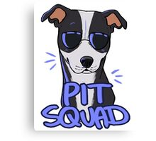 BLACK PIT SQUAD Canvas Print