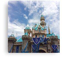 Diamond Castle Canvas Print