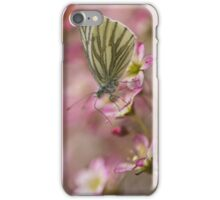 Impression with small butterfly iPhone Case/Skin