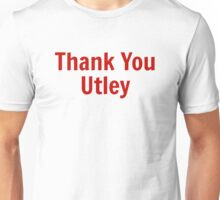 Thank You Utley Unisex T-Shirt