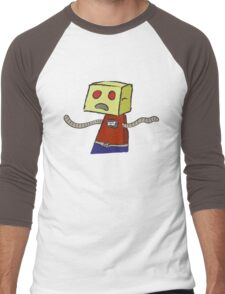 OK ROBOT Men's Baseball ¾ T-Shirt