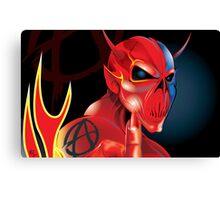 Devil Sign Canvas Print