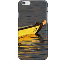 4- rowing boat iPhone Case/Skin