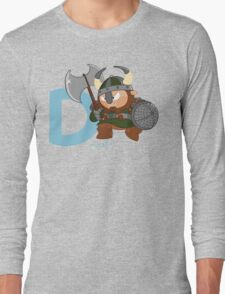 d for dwarf Long Sleeve T-Shirt