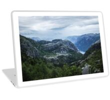 Fjord landscape Laptop Skin