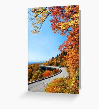 Linn Cove Viaduct Greeting Card