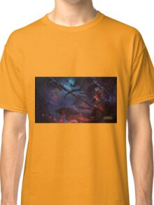 Warring Kingdom Nidalee 4K resolution Classic T-Shirt
