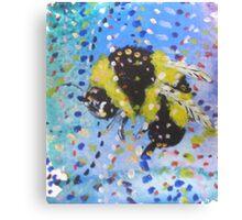 Little Bumble Canvas Print