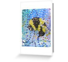 Little Bumble Greeting Card