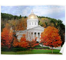 State House in Montpelier Poster