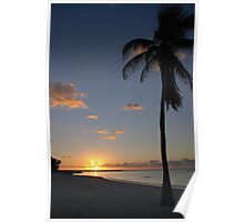 Another pretty sunrise in Key West FL Poster