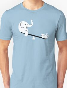 Cat And Elephant Unisex T-Shirt