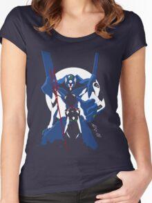Rei & Eva-00 Women's Fitted Scoop T-Shirt