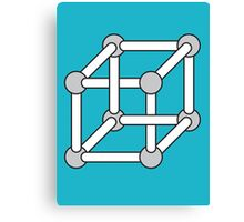 Paradox Box (Optical Illusion Cube) Canvas Print